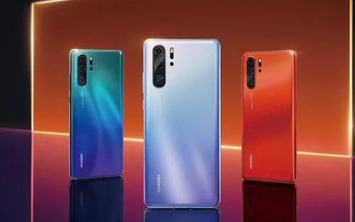 Huawei anuncia seus novos smartphones P30 e P30 Pro