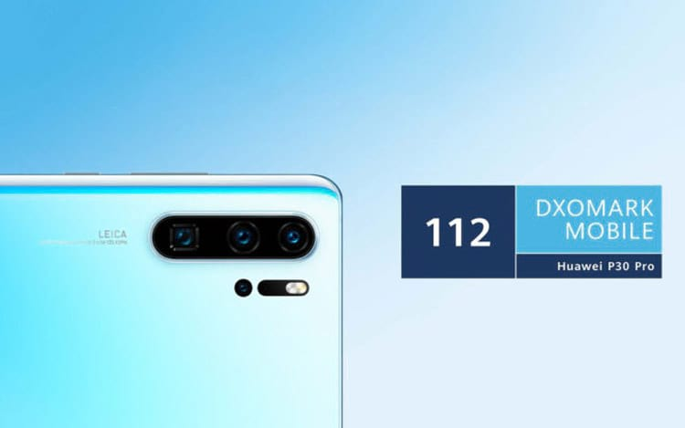 Huawei P30 Pro bate recorde no ranking do DxOMark