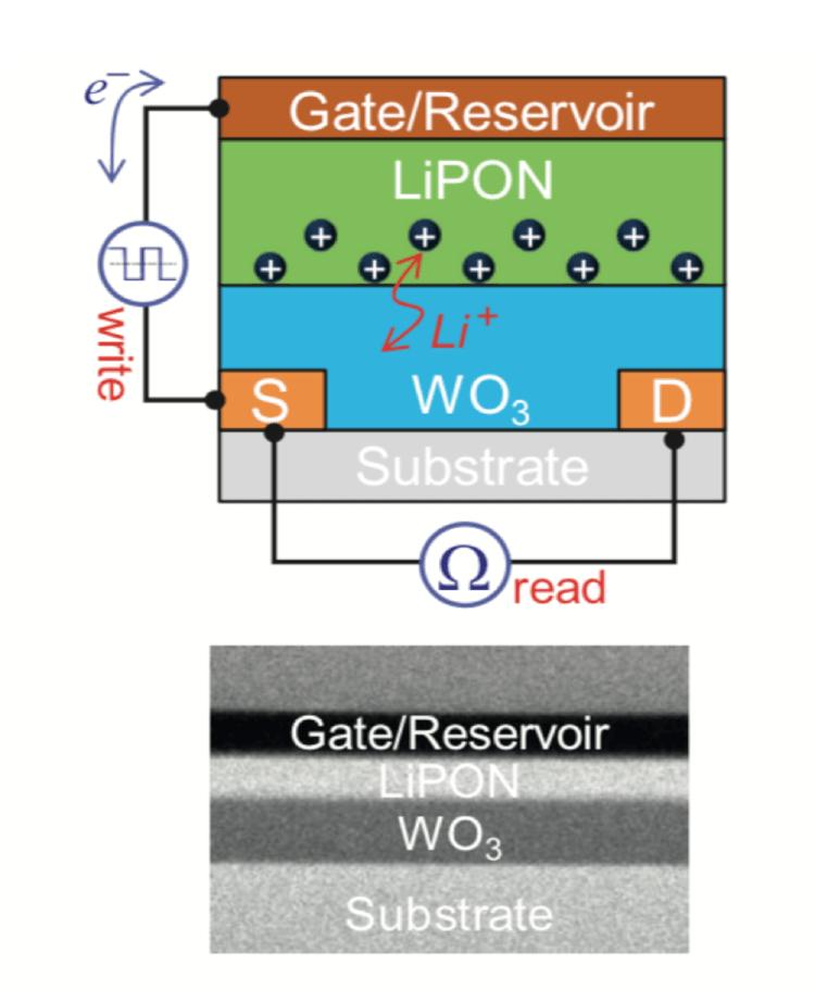 Célula sináptica eletroquímica da IBM