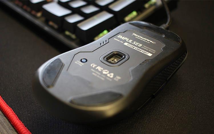 Parte inferior do mouse