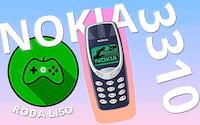 NOKIA 3310 é bom para jogos? - Roda Liso