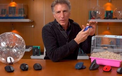 Logitech cria o Hamsters, novo termo para os mouses sem fio