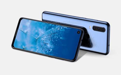 Vazam imagens de um novo Motorola com câmera traseira tripla e com entalhe circular