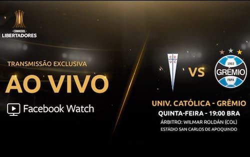 Onde assistir os jogos pela Libertadores no Facebook