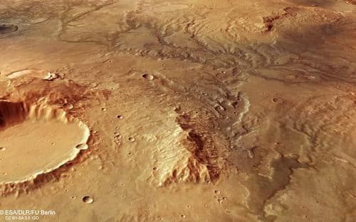 Conheças as três melhores casas em Marte, segundo a Nasa