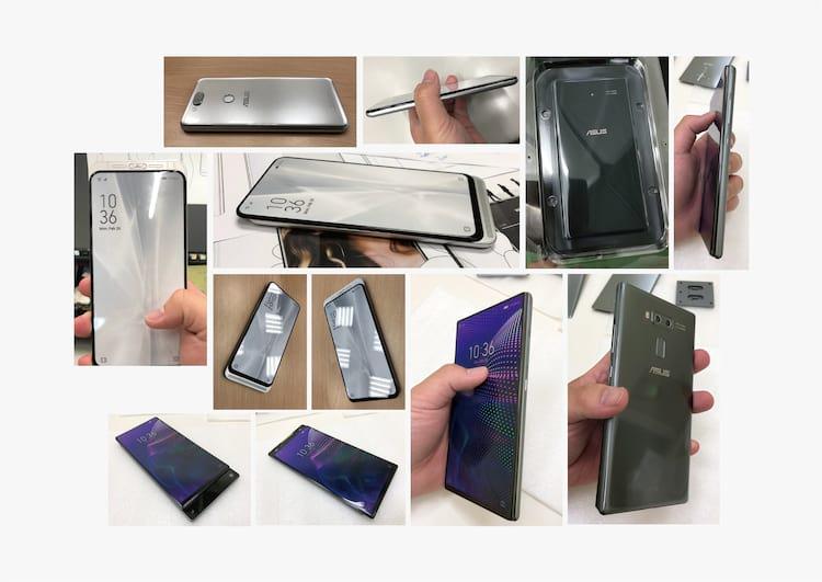 Algumas imagens vazadas do suposto Zenfone 6