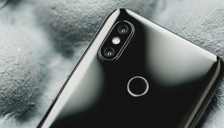 Camera dupla - Xiaomi Mi 8
