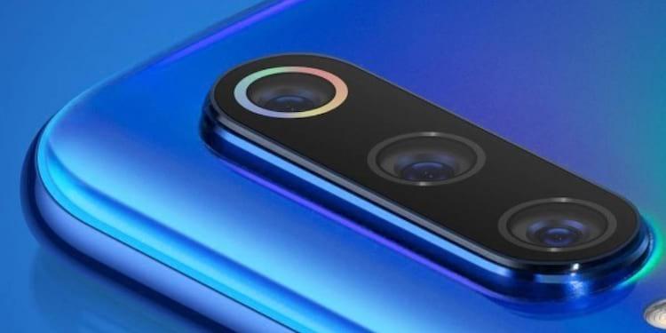Câmera Xiaomi Mi 9