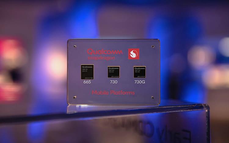 Qualcomm apresenta chips intermediários Snapdragon 665, 730 e 730G