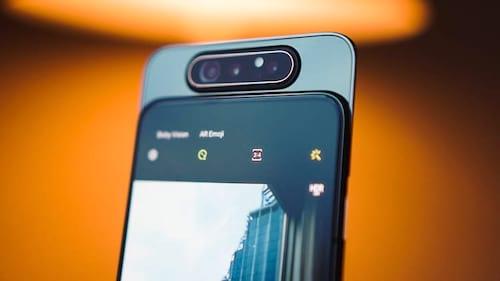 Samsung lança o Galaxy A80 com slider giratório
