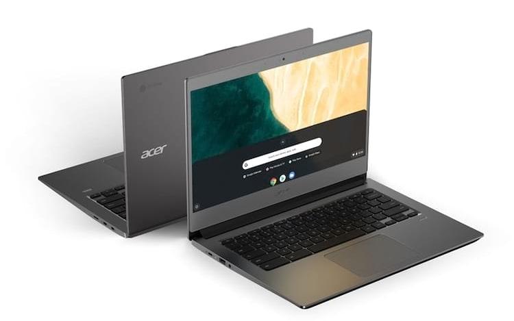 Acer revela novos Chromebooks direcionados ao mercado corporativo.