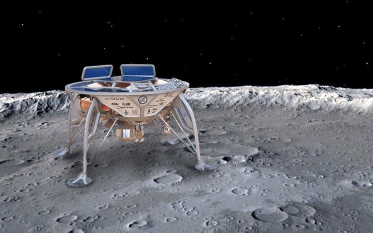 Pouso na Lua por Israel acaba falhando.