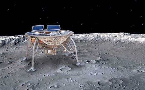 Pouso na Lua por Israel acaba falhando