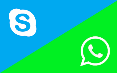 Qual o melhor app para videochamadas: WhatsApp ou Skype?