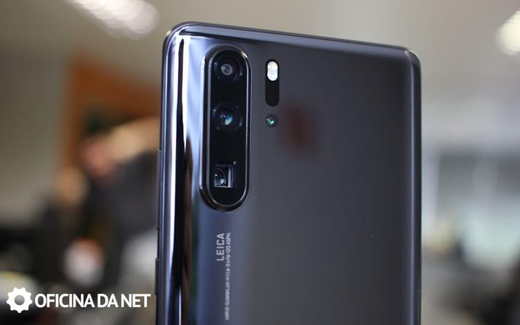 As câmeras do Huawei P30 Pro