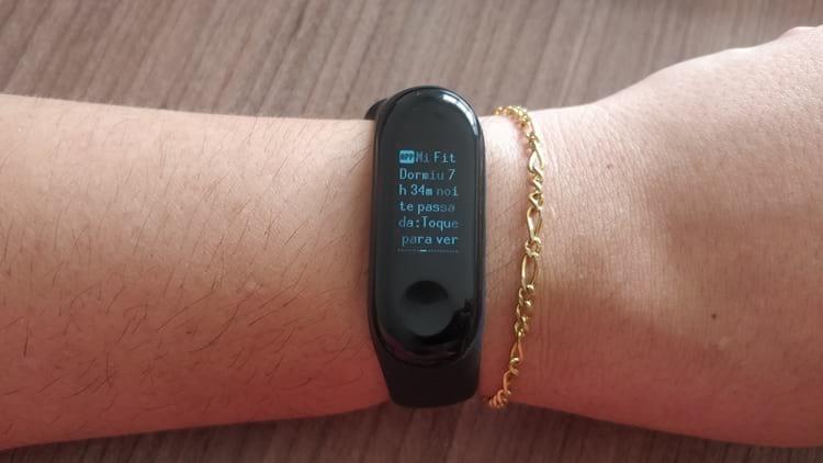 rastreamento do sono - Xiaomi Mi Band 3