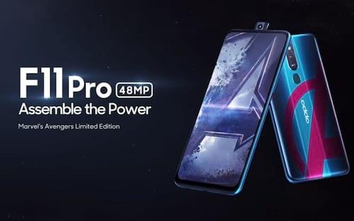 Oppo F11 Pro versão Vingadores chega em 24 de abril