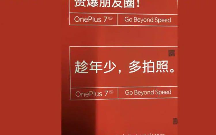 OnePlus 7 chega no próximo mês, em três versões.