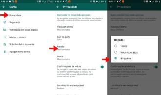 Desativar Recibos de Leitura do WhatsApp