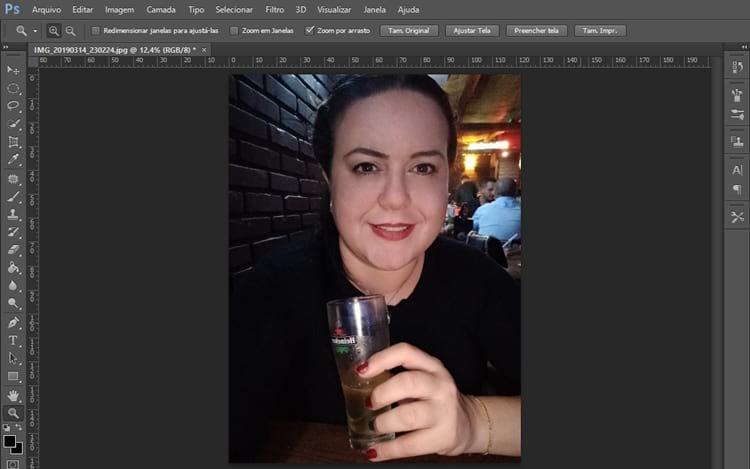 Como remover manchas da pele no Photoshop?