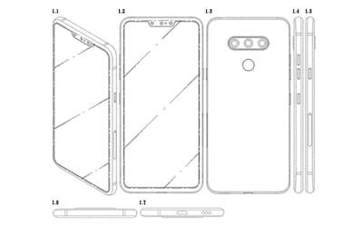 LG registra patente de smartphone com três câmeras frontais