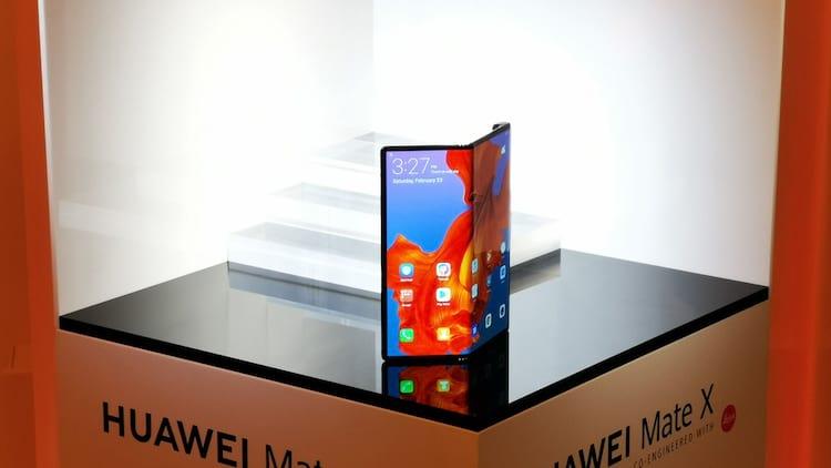 Huawei Mate X terá tela dobrável e tecnologia 5G