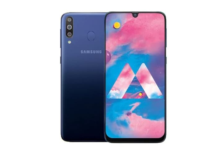 Samsung Galaxy M30 tem três câmeras traseiras e degradê de cores