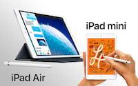 Novos iPads Mini e Air já estão disponíveis para compra no Brasil