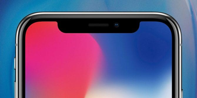 Notch do iPhone X
