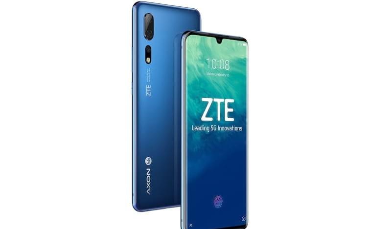 Axon 10 Pro 5G da ZTE chega ao mercado chinês
