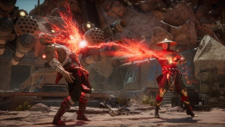 Gameplay do Mortal Kombat 11