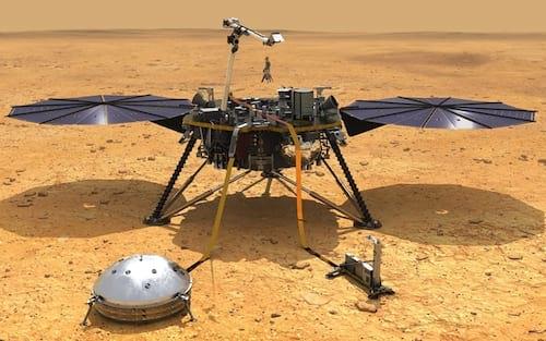 """NASA detecta provável """"terremoto"""" em Marte"""
