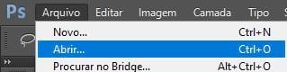 Abrir arquivo (Ctrl + O)