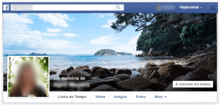 Facebook - Em memória