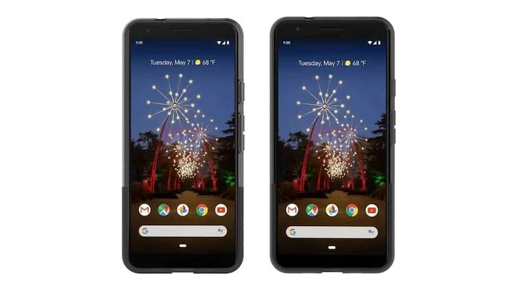 Imagem mostra supostos smartphones Pixel 3a e Pixel 3a XL