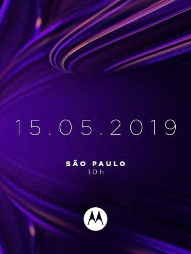 Convite do evento da Motorola que acontecerá 15 de maio em São Paulo.