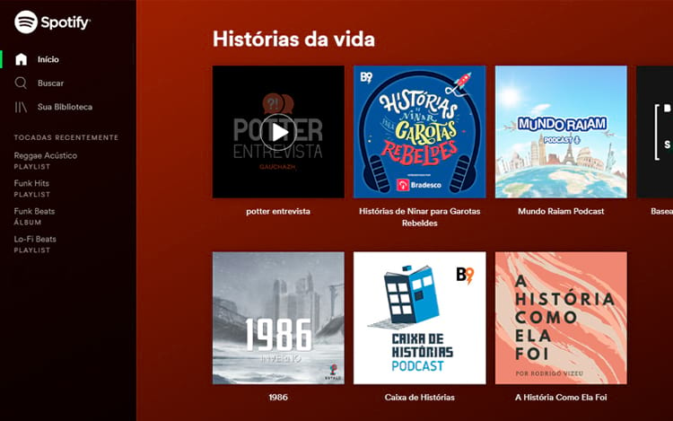 Lista de Podcasts