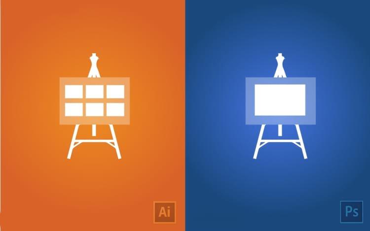 Qual é a diferença entre o Photoshop e o Illustrator?