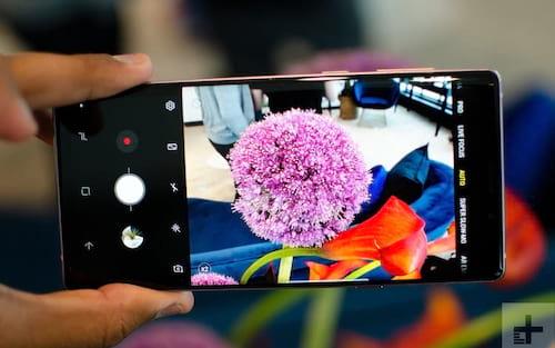 Samsung libera atualização de sistema para o Galaxy Note 9 e aproveita para fazer melhorias nas câmeras do aparelho