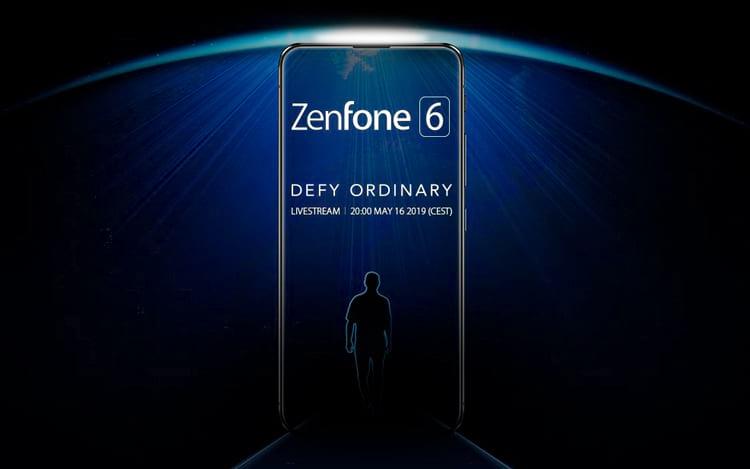 Zenfone 6 aparece em teaser da Asus com tela de bordas finíssimas e sem notch