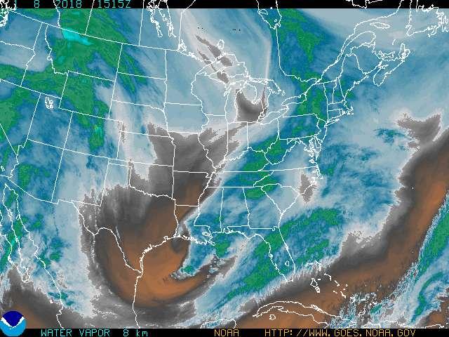 Frequência utilizada para 5G pode afetar a usada por satélites para observar vapor de água na atmosfera