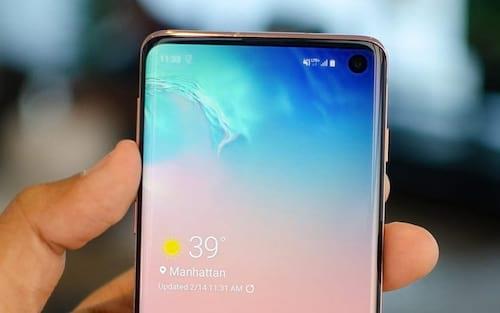 Samsung estuda colocar câmera frontal de seus futuros smartphones sob o display