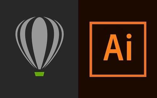 Qual o melhor software para design gráfico: Corel Draw ou Adobe Illustrator?