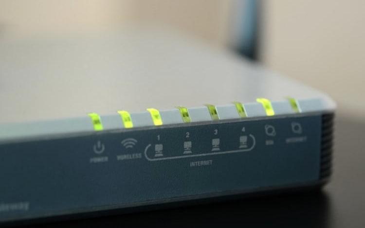 Modem / roteador de internet