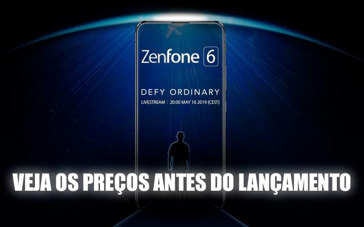 Asus Zenfone 6 tem preços e versões vazadas