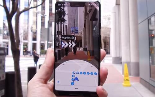 Conheça o Google Maps AR - Navegação com realidade aumentada