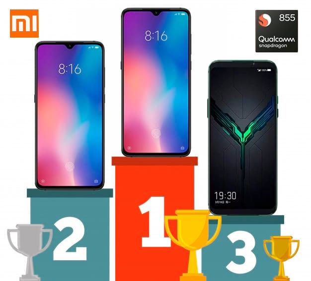 Xiaomi Top 3 Antutu