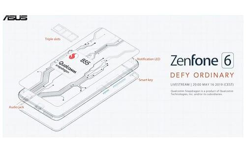 AO VIVO: Zenfone 6 chega com Snapdragon 855, câmeras de 48MP + 13MP e bateria de 5.000mAh