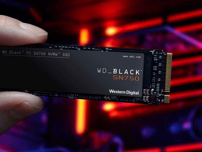 SSD Black SN750 NVMe