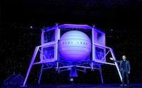 Jeff Bezos, da Amazon, diz que vai enviar nave espacial para a Lua